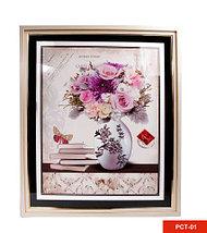 Картина со стразами «Букет цветов» (PCT-03), фото 3