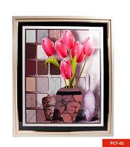 Картина со стразами «Букет цветов» (PCT-03), фото 2