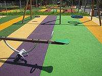 Тартановое покрытие для спортивных и детских площадок Зеленый