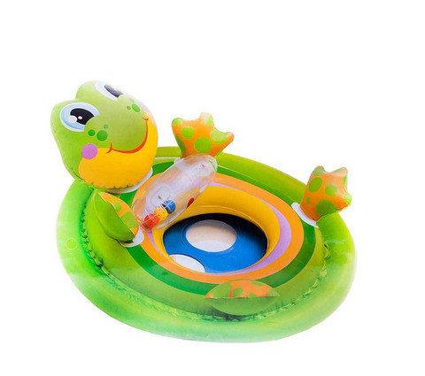 Надувной круг-ходунки «Лягушка» Intex 59570NP, фото 2