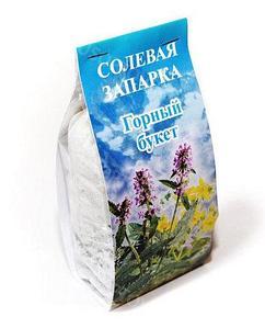 Солевая запарка ГалитФарм для ванны и бани (Степной букет)