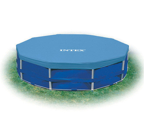 Тент для каркасного бассейна Intex 28030/28031 [305, 366 см] (Intex 28030, 305 см), фото 2