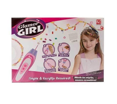 Набор для украшения волос бисером Glamor Girl 801, фото 2