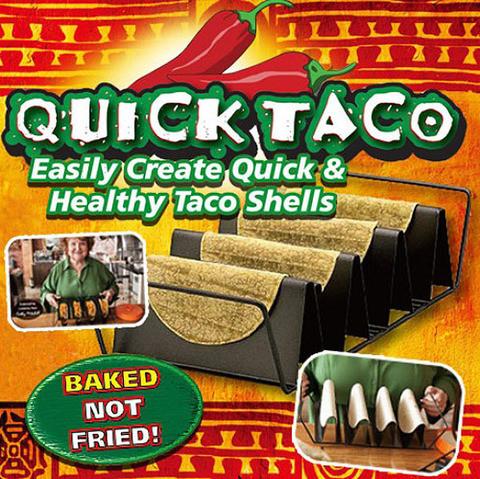 Подставка-форма для приготовления тако Quick Taco