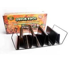 Подставка-форма для приготовления тако Quick Taco, фото 2