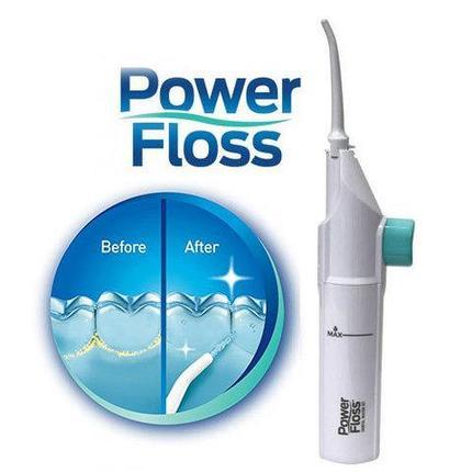 Ирригатор полости рта портативный механический Power Floss, фото 2