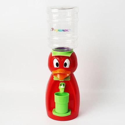 Кулер для воды детский в виде утки «Родничок» (Желтый), фото 2