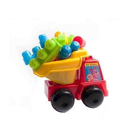 Игрушечный самосвал со строительными блоками HYS Toys HG-1281, фото 2