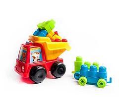 Игрушечный самосвал со строительными блоками HYS Toys HG-1281, фото 3