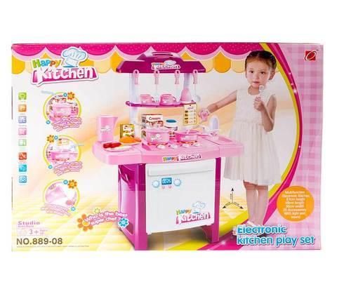 Игровой набор кухонная плита и аксессуары Happy Kitchen 889-08