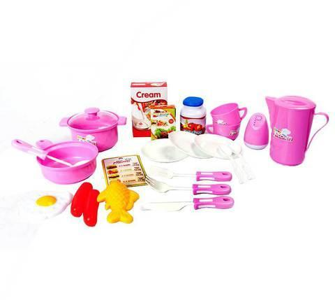 Игровой набор кухонная плита и аксессуары Happy Kitchen 889-08, фото 2
