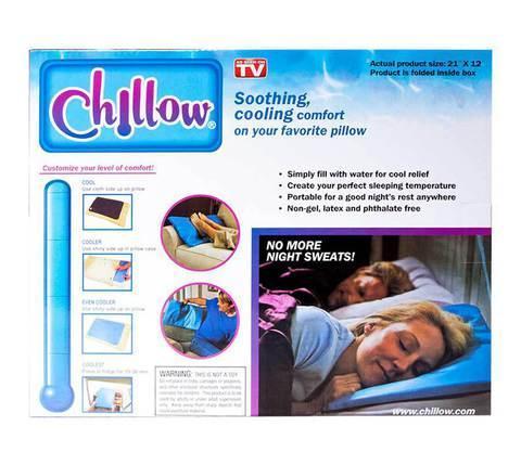 Подушка охлаждающая Chillow, фото 2