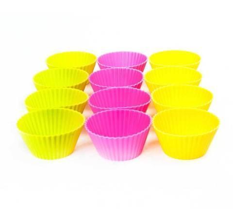 Набор силиконовых форм для кексов [12 шт.], фото 2
