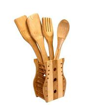 Набор деревянных кухонных аксессуаров [5 предметов], фото 2
