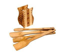 Набор деревянных кухонных аксессуаров [5 предметов], фото 3