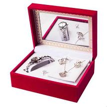 Подарочный набор женских украшений «Восхищение» JESOU [3908] (Сердце), фото 2