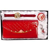 Подарочный комплект женских аксессуаров «Светская дива» JESOU [36150] (Утонченная барышня)