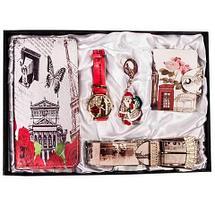 Подарочный комплект женских аксессуаров «Романтичные мотивы» JESOU [40021] (Приключения в Париже), фото 3