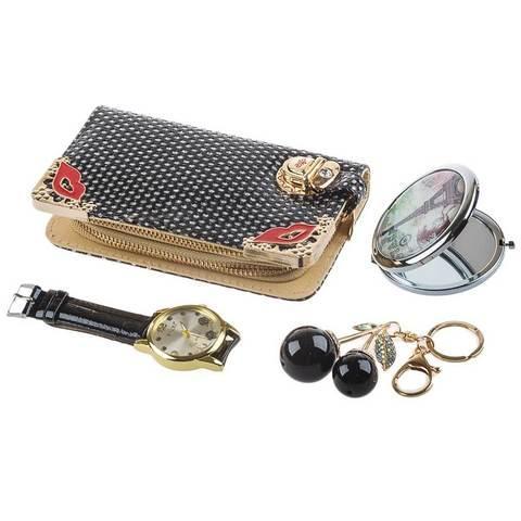 Подарочный комплект женских аксессуаров «Стильные штучки» JESOU (Краски романтики)