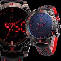Часы наручные мужские спортивные Shark Sport Watch SH265 (Черный с синим), фото 2