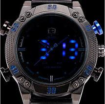 Часы наручные мужские спортивные Shark Sport Watch SH265 (Черный с синим), фото 3