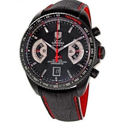Часы мужские кварцевые TAG Heuer Grand Carrera RS2 [качественная реплика], фото 2
