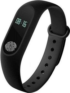 Фитнес-браслет с пульсометром Mi Band-2 (Черный)