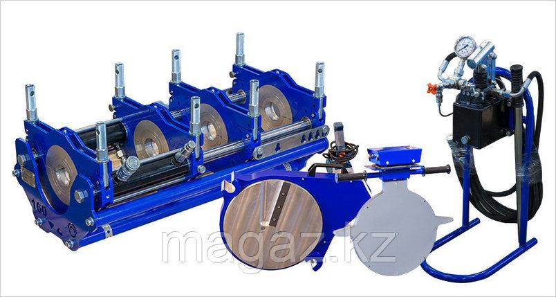 Сварочные аппараты для стыковой сварки полиэтиленовых труб ССПТ-160 М, фото 2