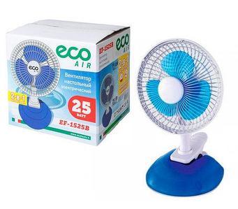Вентилятор электрический настольный ECO 2 в 1 [25 Вт]