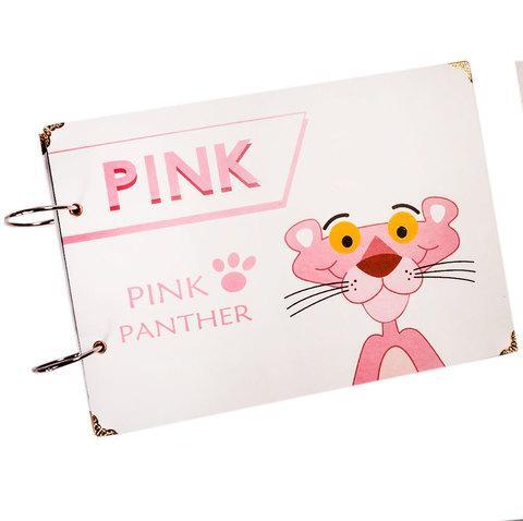 Фотоальбом Fairy-Tale Life перекидной на кольцах [25 листов] (Розовая пантера)
