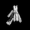 Мультитул брелок Leatherman Style CS, Кол-во функций: 6 в 1, Цвет: Чёрный, (CS), фото 2