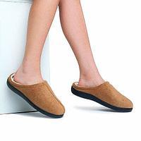 Тапочки домашние с гелевой стелькой Comfort Gel (L: 39/40)