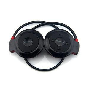 Наушники беспроводные Bluetooth с MP3-плеером Mini-503TF для занятия спортом (Черный)
