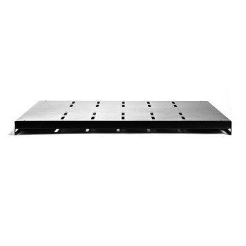 """Полка для шкафов стационарная SHIP 700160101, 19"""", Глубина: 600мм, Нагрузка (max): 90кг, Цвет: Чёрный"""