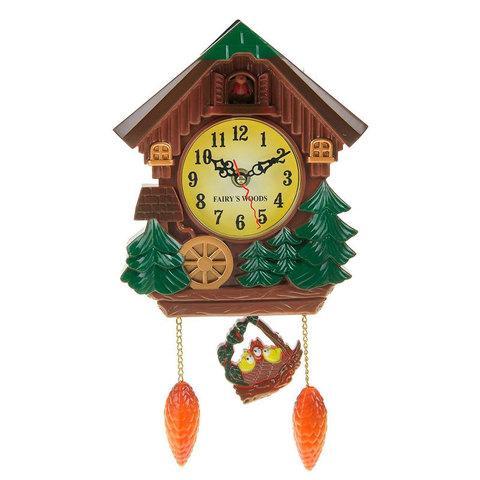 Часы настенные с кукушкой FAIRYS WOODS