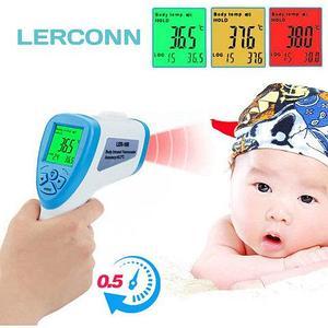 Термометр-градусник бесконтактный инфракрасный LERCONN (Сиреневый)