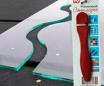 Стеклорез роликовый с эргономичной рукоятью для плитки и стекла