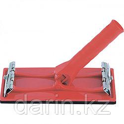 Брусок для шлифования 105 х 210 мм с шарнирным переходником под телескопическую ручку Matrix
