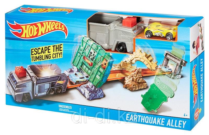 "Трек Hot Wheels ""Earthquake alley"" Hot Wheels, Mattel"
