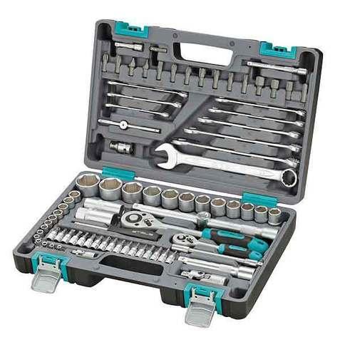 """Набор инструментов ½"""" и ¼"""" STELS AUTO Tool Set [82 предмета] 14105"""