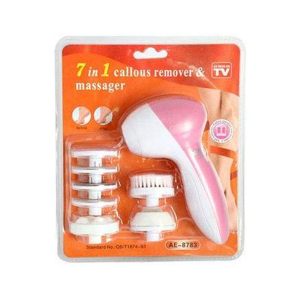 Косметический аппарат для ног Callus Remover & Massager 7 в 1, фото 2