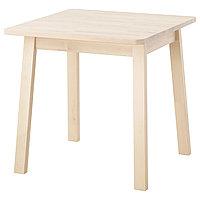 Стол НОРРОКЕР береза ИКЕА, IKEA