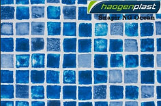 Пленка для бассейна Haogenplast NG BLUE 3D