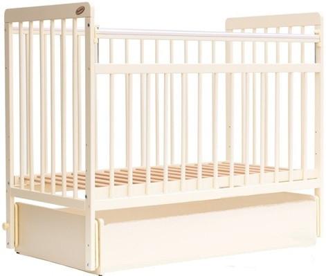 Кровать детская Bambini Евро стиль M 01.10.04 Слоновая кость