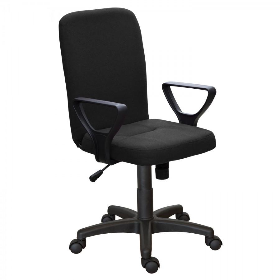 Офисное кресло Квадро Н (гобелен чёрный)