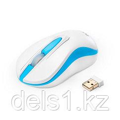 Мышь, Delux, DLM-137OGW, 3D, Оптическая, 1000dpi, Беcпроводная 2.4ГГц,