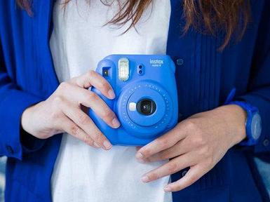 Фотоаппарат моментальной печати Fujifilm Instax Mini 9 (Синий кобальт)