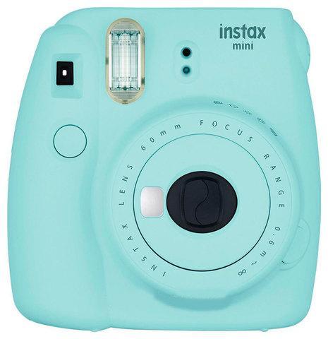 Фотоаппарат моментальной печати Fujifilm Instax Mini 9 (Голубая лагуна)