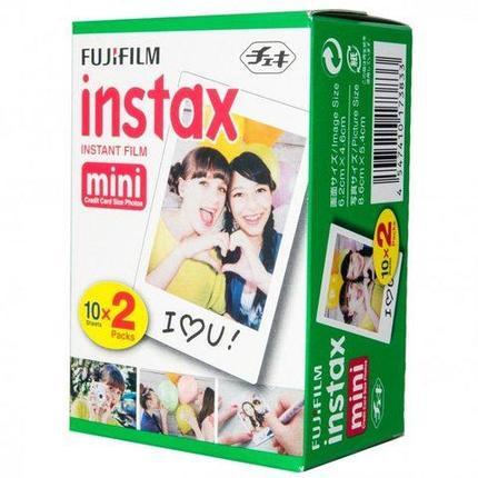Кассета-картридж с фотобумагой для камеры INSTAX mini FUJIFILM (10 кадров), фото 2