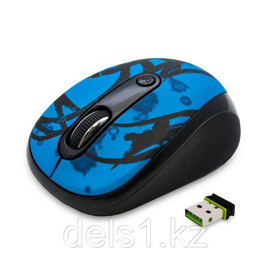 Мышь, Delux, DLM-130OGD,3D, Оптическая, 800-1600dpi, Беспроводная 2.4ГГц
